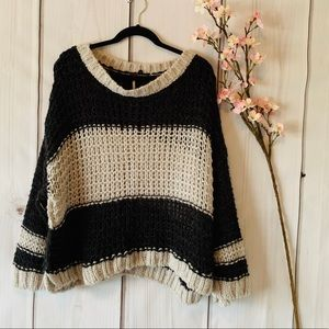 FREE PEOPLE / THICK KNIT SWEATER